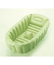 Richell Soft Baby Bath Cushion - Green