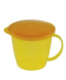 Richell Snack Cup For Chips - Yellow