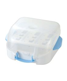 Richell Bottle Sterilizer - White And Blue