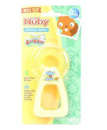 Nuby Kool Soother Teether - Yellow