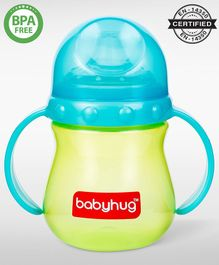 Babyhug Sipper Cup With Twin Handles Blue - 240 ml