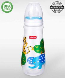 Babyhug Drop Feeding Bottle Blue - 250 ml