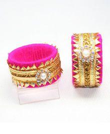 Asthetika Gota Bangle - Pink