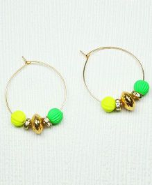 Asthetika Diamond Earrings - Neon