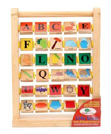 Little Genius Alphabet Frame - Multi Color