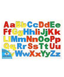 Little Genius Combined Alphabets - Multi Color