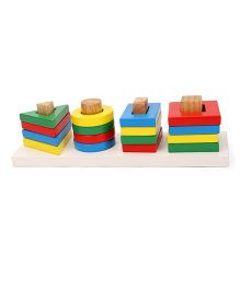 Little Genius Shape Sorting Board - Multi Color