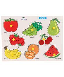 Little Genius Fruits Tray - Multi Color