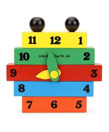 Little Genius Construct A Clock - Multi Color