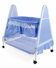 Babyhug Angel Dreams Cradle - Blue