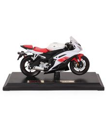 Maisto Yamaha Die Cast Motorcycle YZR-R6 - Red & White