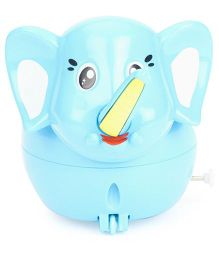 Playmate Wind Up Toy Elephant Toy 3 Pieces - Blue
