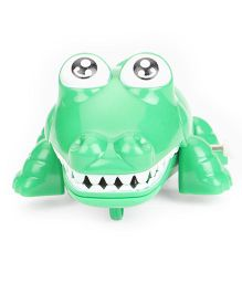Playmate Wind Up Crocodile Toy - Green