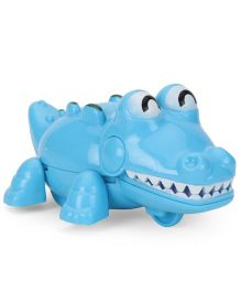 Playmate Wind Up Crocodile Toy - Blue