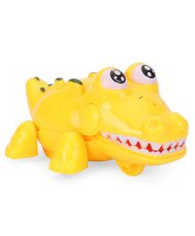 Playmate Wind Up Crocodile Toy - Yellow