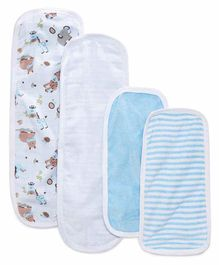 My Milestones Burpy Set Pack of 4 - Blue