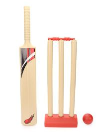 FunFactory Cricket Big Set - Cream And Red