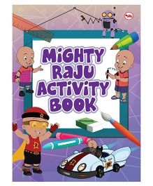 Mighty Raju Activity Book - English