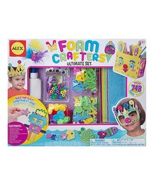 Alex Toys Craft Foam Crafters Ultimate Set - Multi Color