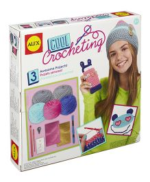 Alex Toys Craft Cool Crocheting Kit - Multi Color