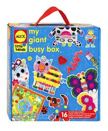 Alex Toys Little Hands My Giant Busy Box - Multi Color