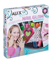 Alex Toys Spa Nail Glam Salon - Multi Color