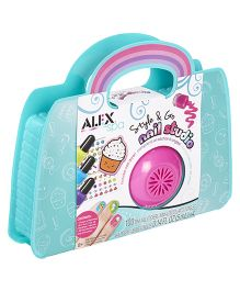 Alex Toys Spa Style and Go Nail Studio - Blue