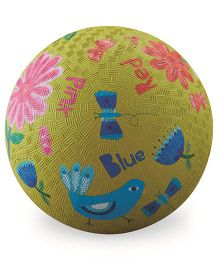 Crocodile Creek Play Ball Bird Print - Green