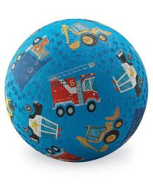 Crocodile Creek Play Ball Vehicle Print - Blue