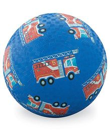 Crocodile Creek Play Ball truck Print - Dark Blue