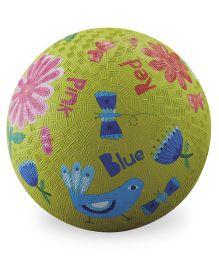 Crocodile Creek Play Ball Bird Print - Green