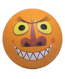 Crocodile Creek Play Ball Monster Print - Dark Orange