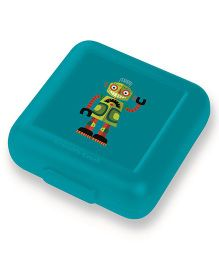 Crocodile Creek Sandwich Keeper Robot Print - Green