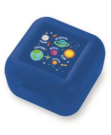 Crocodile Creek Sandwich Keeper Solar System Print Set of 2 - Blue