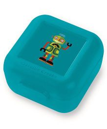 Crocodile Creek Sandwich Keeper Robot Print Set of 2 - Green