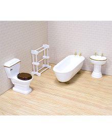 Melissa & Doug Bathroom Furniture Set - White