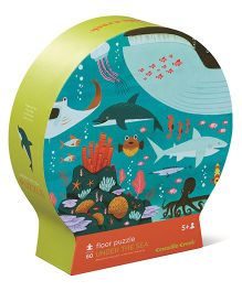 Crocodile Creek Round Under The Sea Puzzle - 60 Pieces