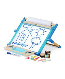 Melissa & Doug Deluxe Double-Sided Tabletop Easel - Blue
