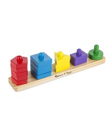 Melissa & Doug Stack & Sort Board - Multicolor