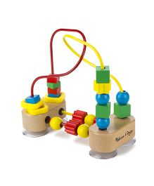 Melissa & Doug First Bead Maze - Multicolor
