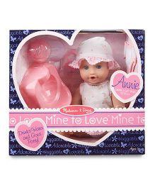 Melissa & Doug Annie Drink & Wet Doll - 27 cm