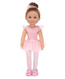 Melissa & Doug Victoria Ballerina Doll Pink - Height 36 cm