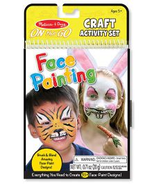 Melissa & Doug On The Go Craft Face Painting Activity Kit