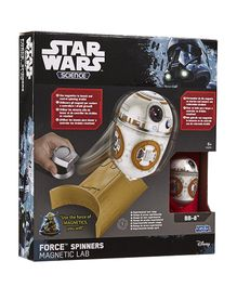 Uncle Milton Force Spinners Assortment of 2 (R2D2, BB8)
