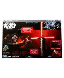 Uncle Milton Star Wars Kylo Ren Lightsaber Room Light - White And Red