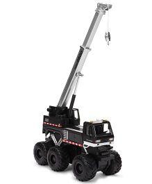 Maisto-Fresh Metal Builder Zone Quarry Monsters Crane - Black