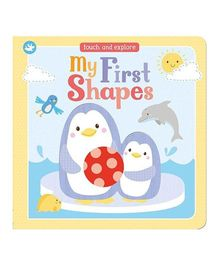 Little Learners My First Shapes Board Book - English