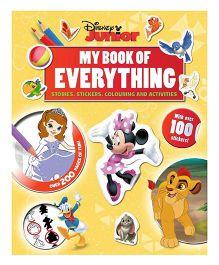 Junior My Book Of Everything - English