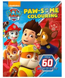 Paw Patrol Paw Some Coloring Book - English
