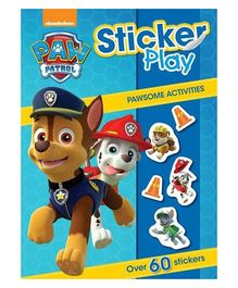 Paw Patrol Sticker Play - English
